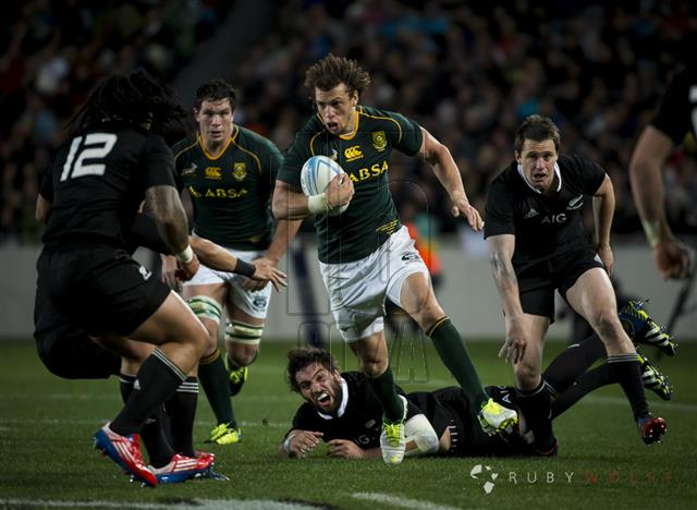 All Blacks vs The Springboks at Eden Park, Auckland, New Zealand 14 September 2013